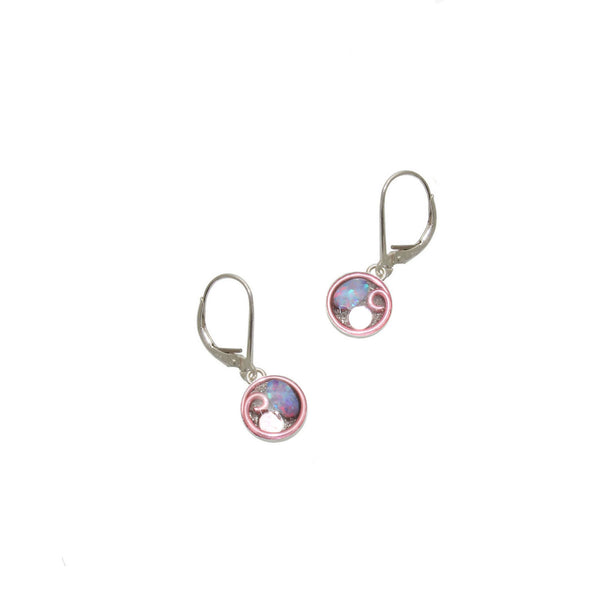 Cymbidium Opal Earrings