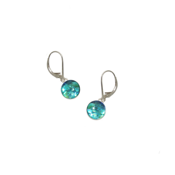 8mm Sky Mermaid Earrings