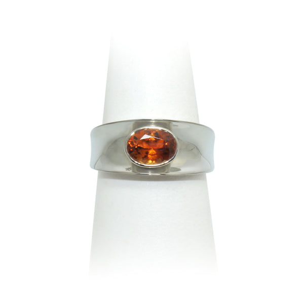 Cognac Zircon Ring