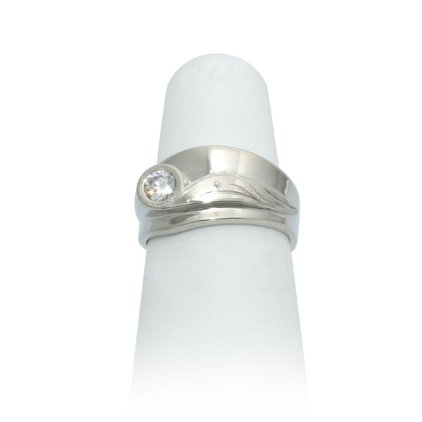 Size 5.25 - Modern Diamond Ring