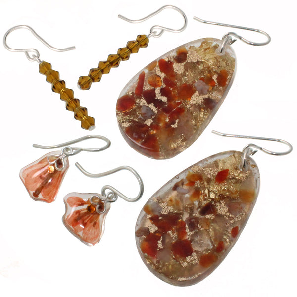 Orange Earring Bundle