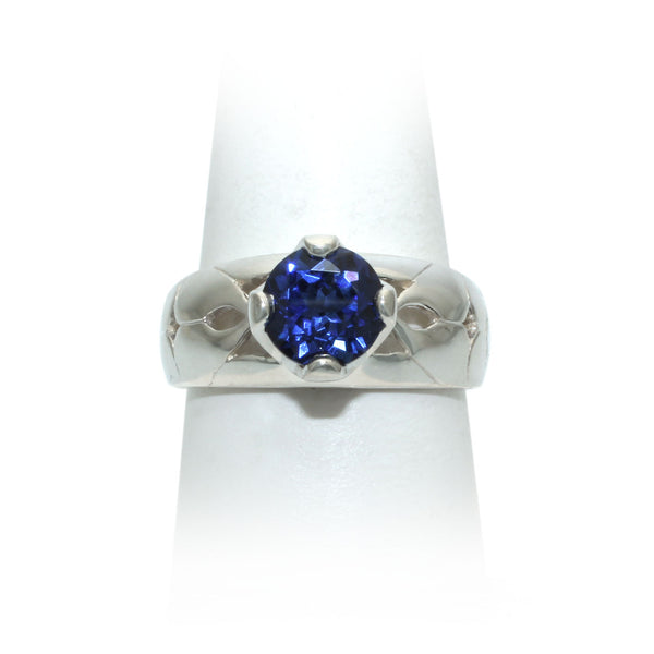 Size 10 - Blue Sapphire Ring