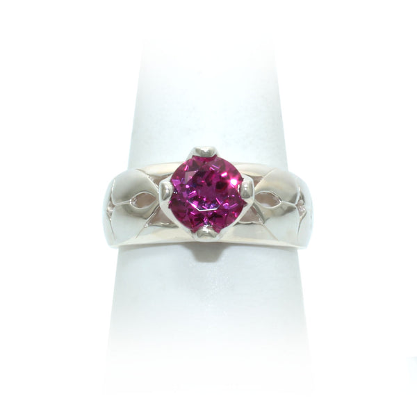 Size 10 - Raspberry Sapphire Ring