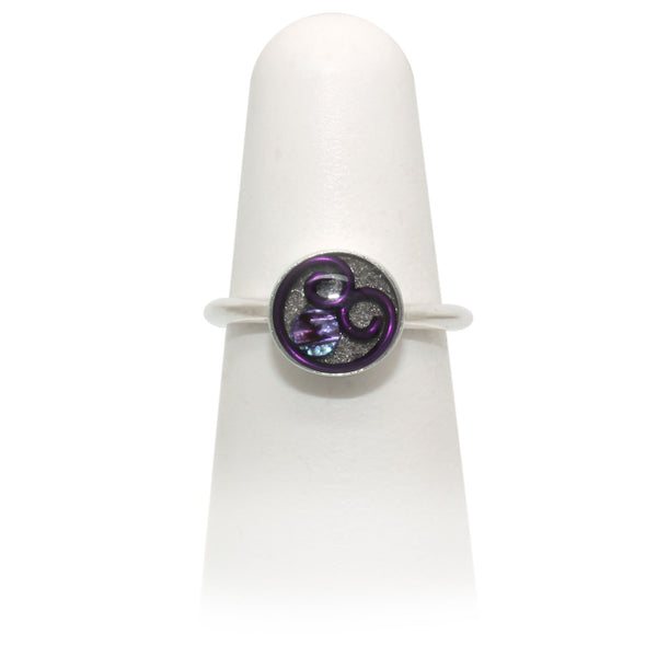 Size 6 - Purple Abalone Ring