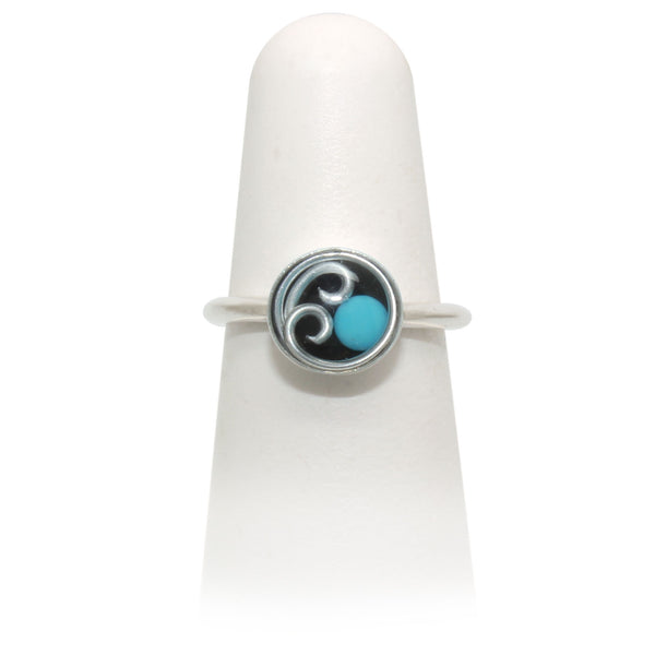 Size 7 -Turquoise Ring