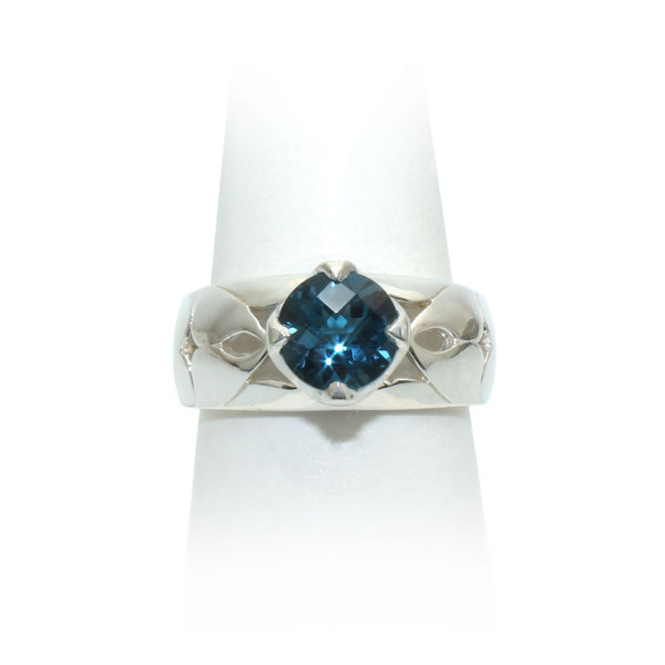 Size 9 - London Blue Topaz Ring
