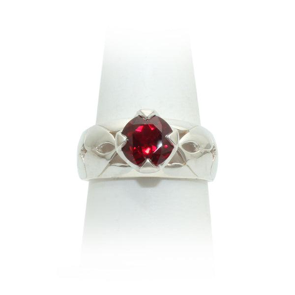 Size 9 - Red Sapphire Ring