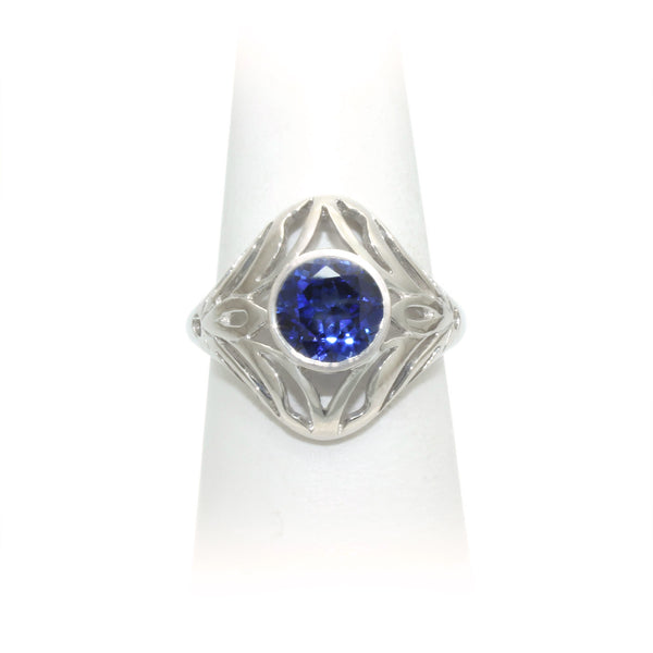 Size 7 - Blue Sapphire Ring