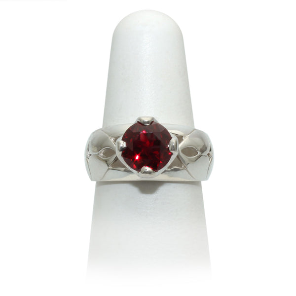 Size 7 - Red Sapphire Ring