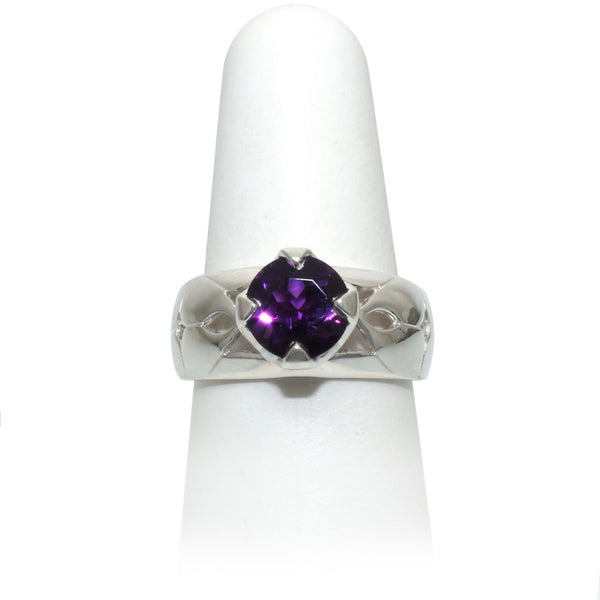Size 8 - Amethyst Ring