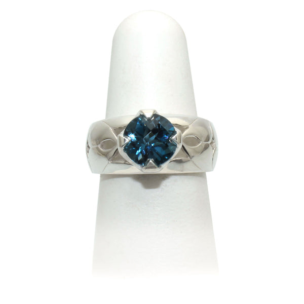 Size 8 - London Blue Topaz Ring