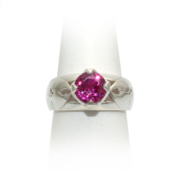 Size 9 - Raspberry Sapphire Ring