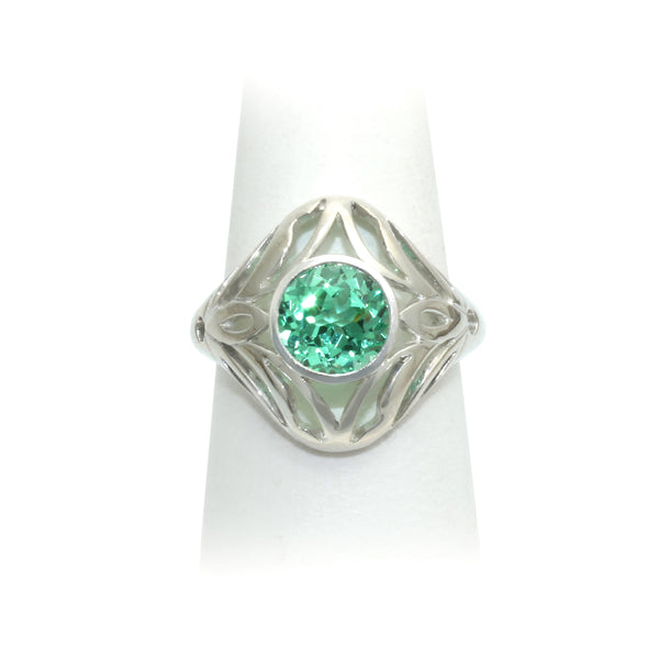Size 8 - Mint Sapphire Ring