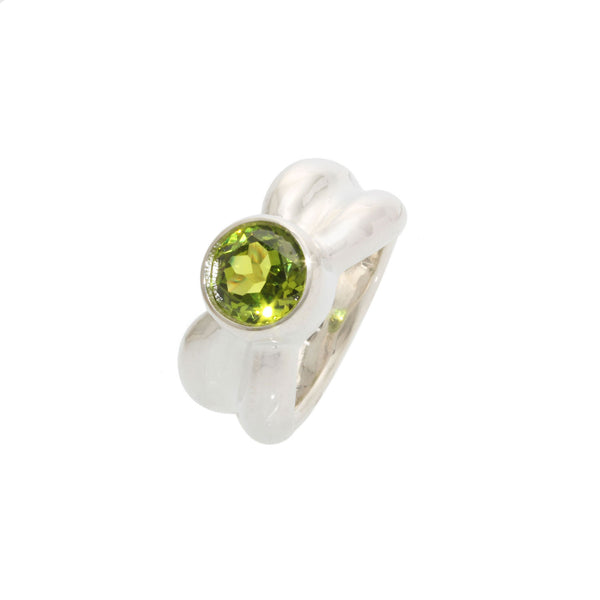 Size 6.5 - Lime Sapphire Ring