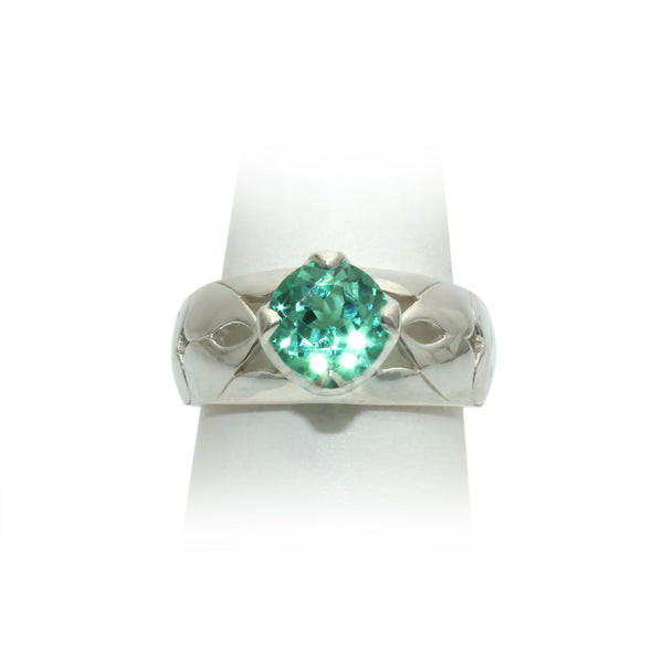 Size 10 - Mint Sapphire Ring