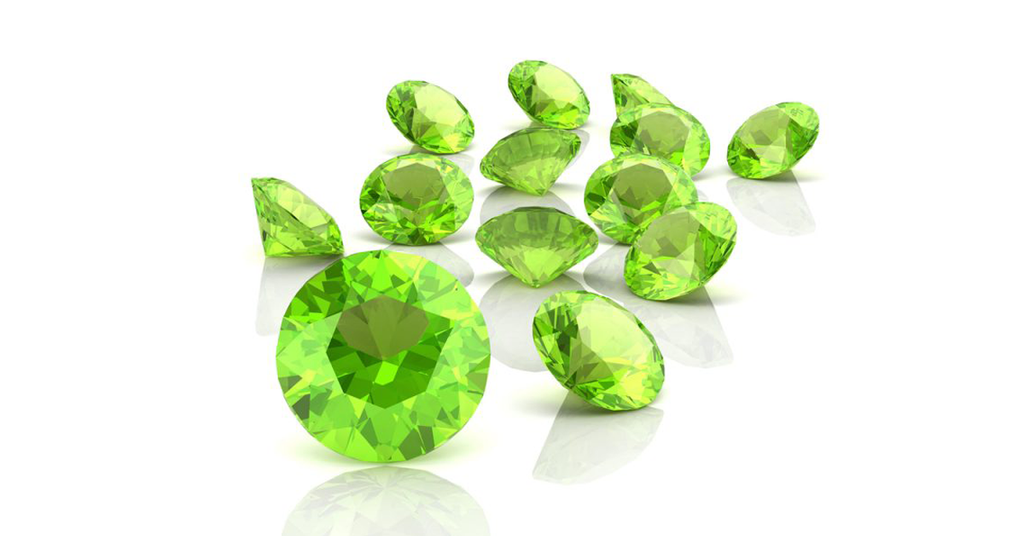 August's Birthstone; Peridot