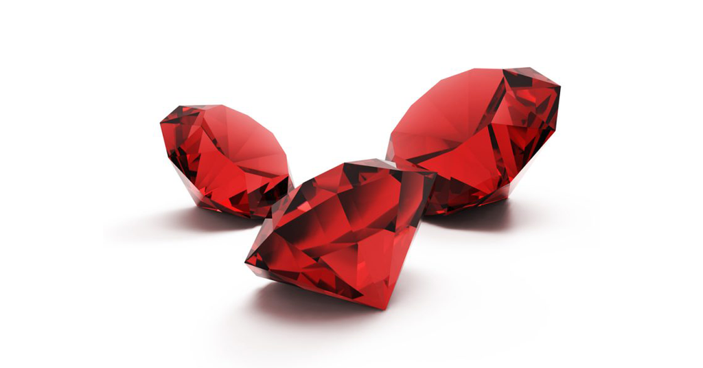 The Birthstone of July; Ruby