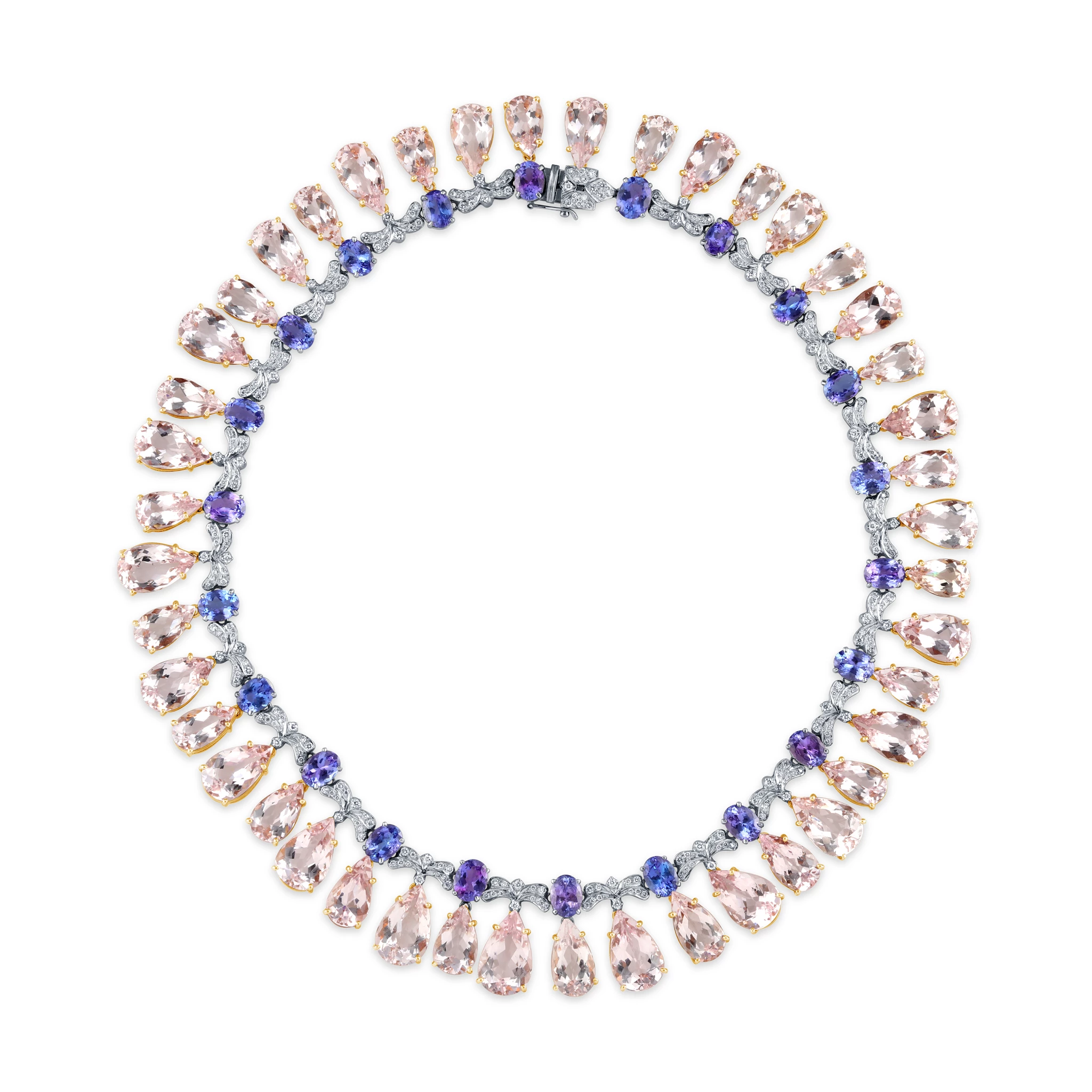 csk necklace a s christie diamond tanzanite spring jewels and bead