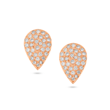 Earring With Diamond in 18k Rose Gold
