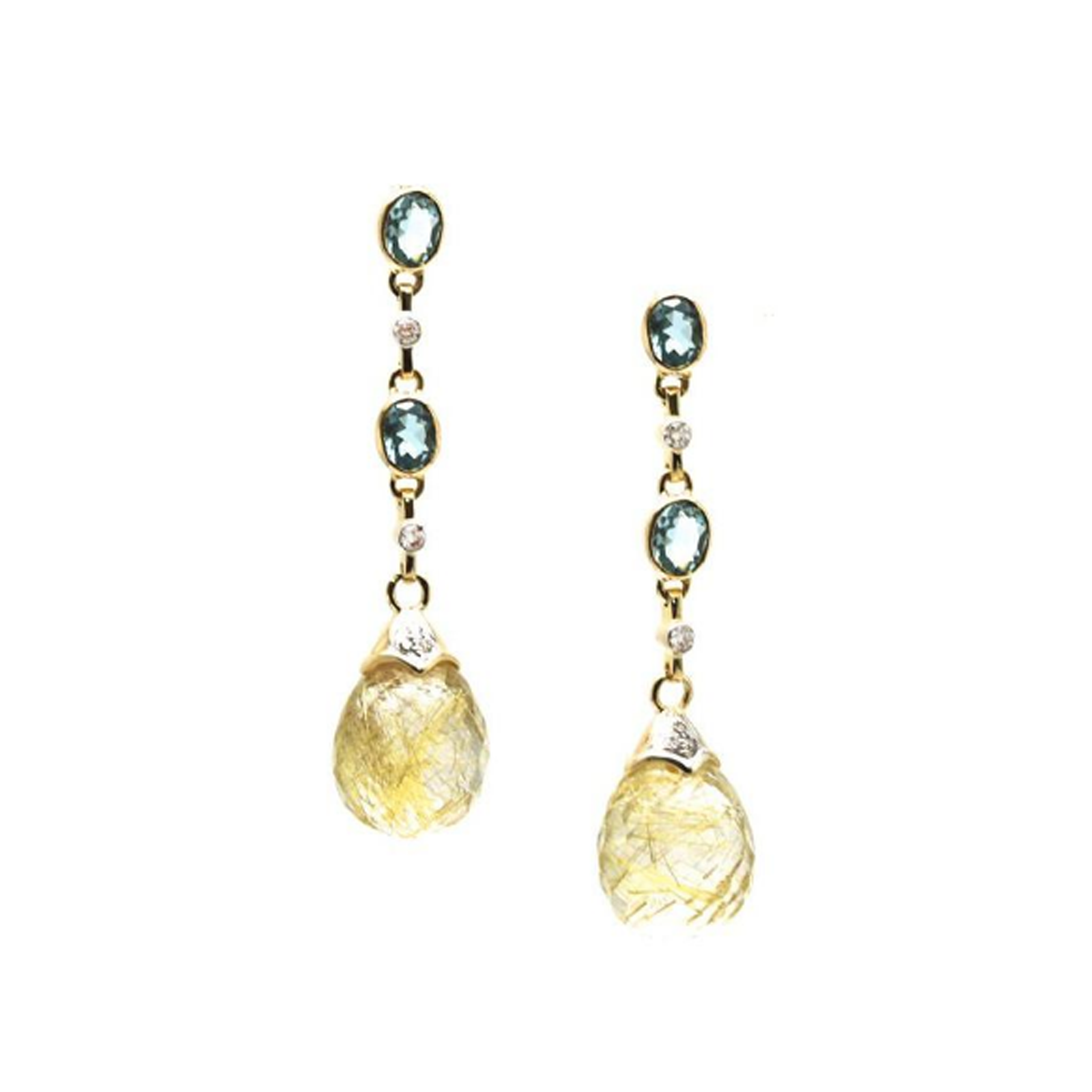 img manhattan resize drop earrings gold interchangeable chalcedony isla gemstone vermeil aqua