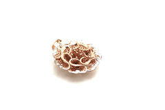 Lattice Flower Pendant in 18k Rose Gold