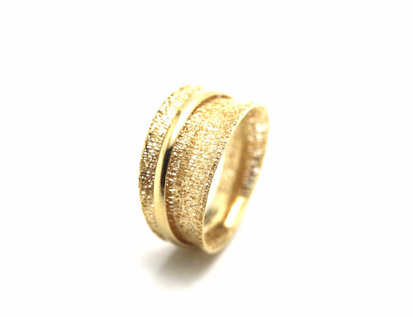 Lattice Ring 18k Yellow Gold