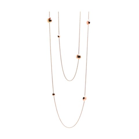 Lente Long Necklace in 18K Gold
