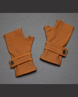 Fingerless Gloves - Cinnamon