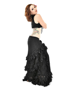 Lola Skirt - Black Lace