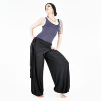 Everyday Double Wrap - Black - By Dreaming Amelia and Rachel Brice