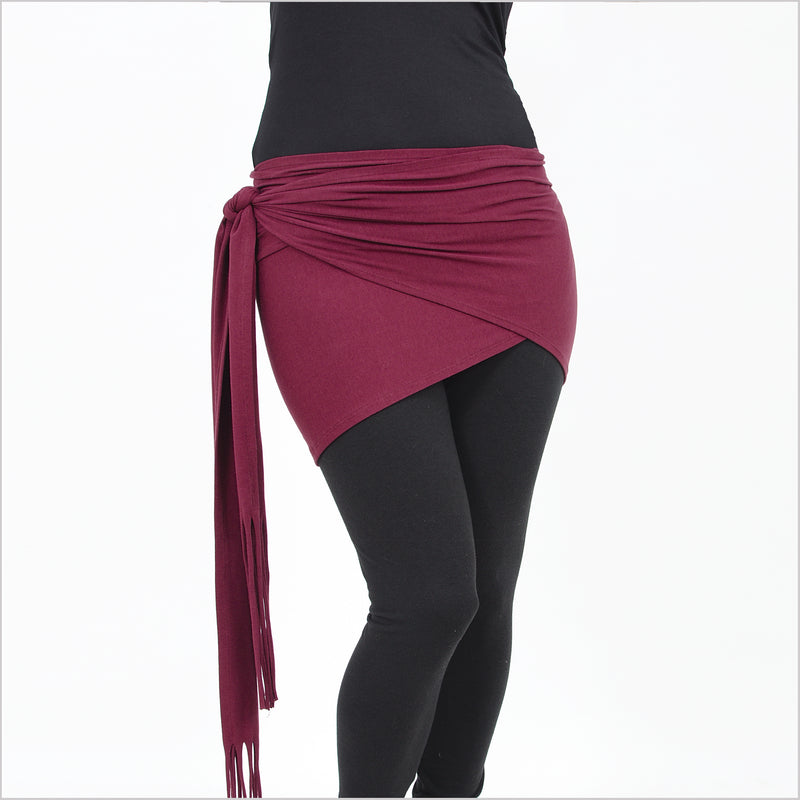 Everyday Double Wrap - Burgundy - By Dreaming Amelia and Rachel Brice