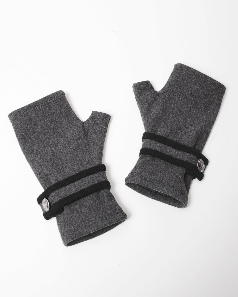 Fingerless Gloves - Gray