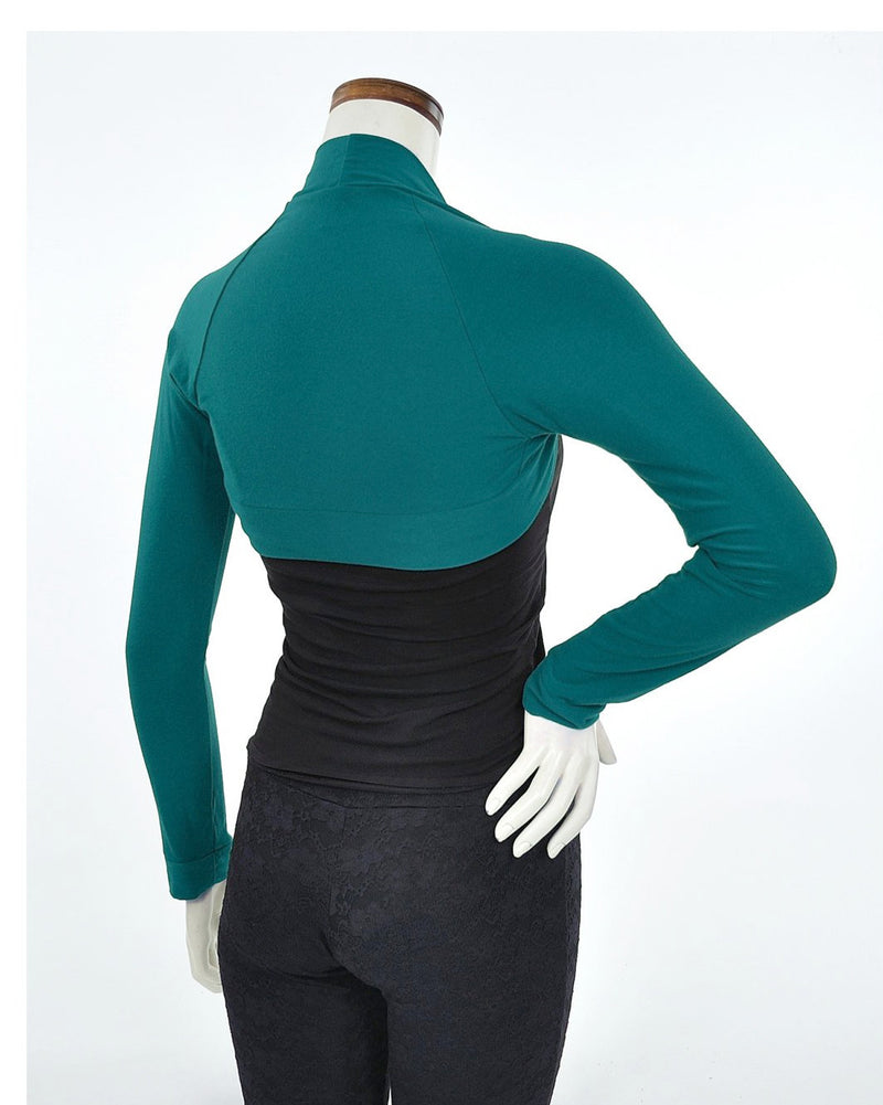 Bamboo Shrug - Teal