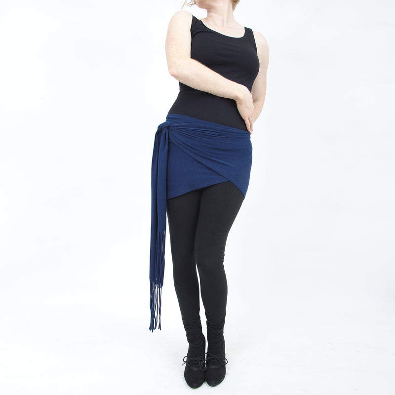 Everyday Double Wrap - Navy Blue - By Dreaming Amelia and Rachel Brice