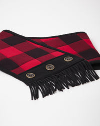 Cowl Scarf - Red Plaid