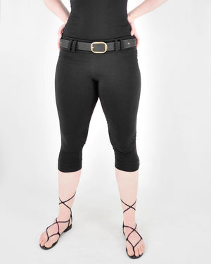 Belt Loop Capri Leggings -  by Dreaming Amelia and Rachel Brice