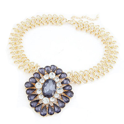 Keziah Collar Fashion Necklace - Micha Store  - 1