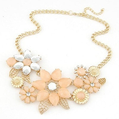 Lily Flower Fashion Necklace - Micha Store  - 1