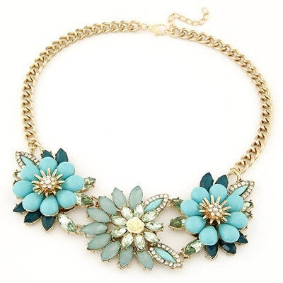 Camellia Flower Fashion Necklace - Micha Store  - 1