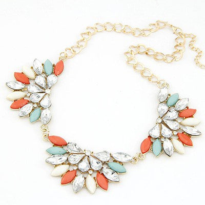 Peony Flower Fashion Necklace - Micha Store  - 1