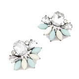 Icy Vanilla Fashion Earrings - Micha Store  - 1