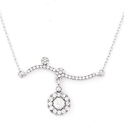Enchanted Silver Fashion Necklace - Micha Store  - 1