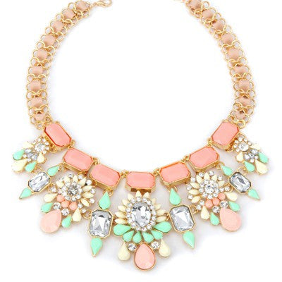 Christy Summer Flower Fashion Necklace - Micha Store  - 1