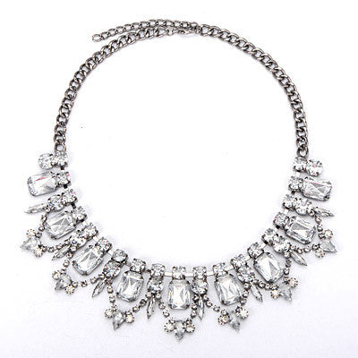 Valerie Crystal Fashion Necklace - Micha Store  - 1