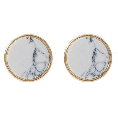 Reina Marble Earrings