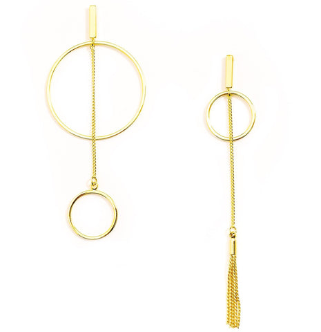 Luna Gold Earrings