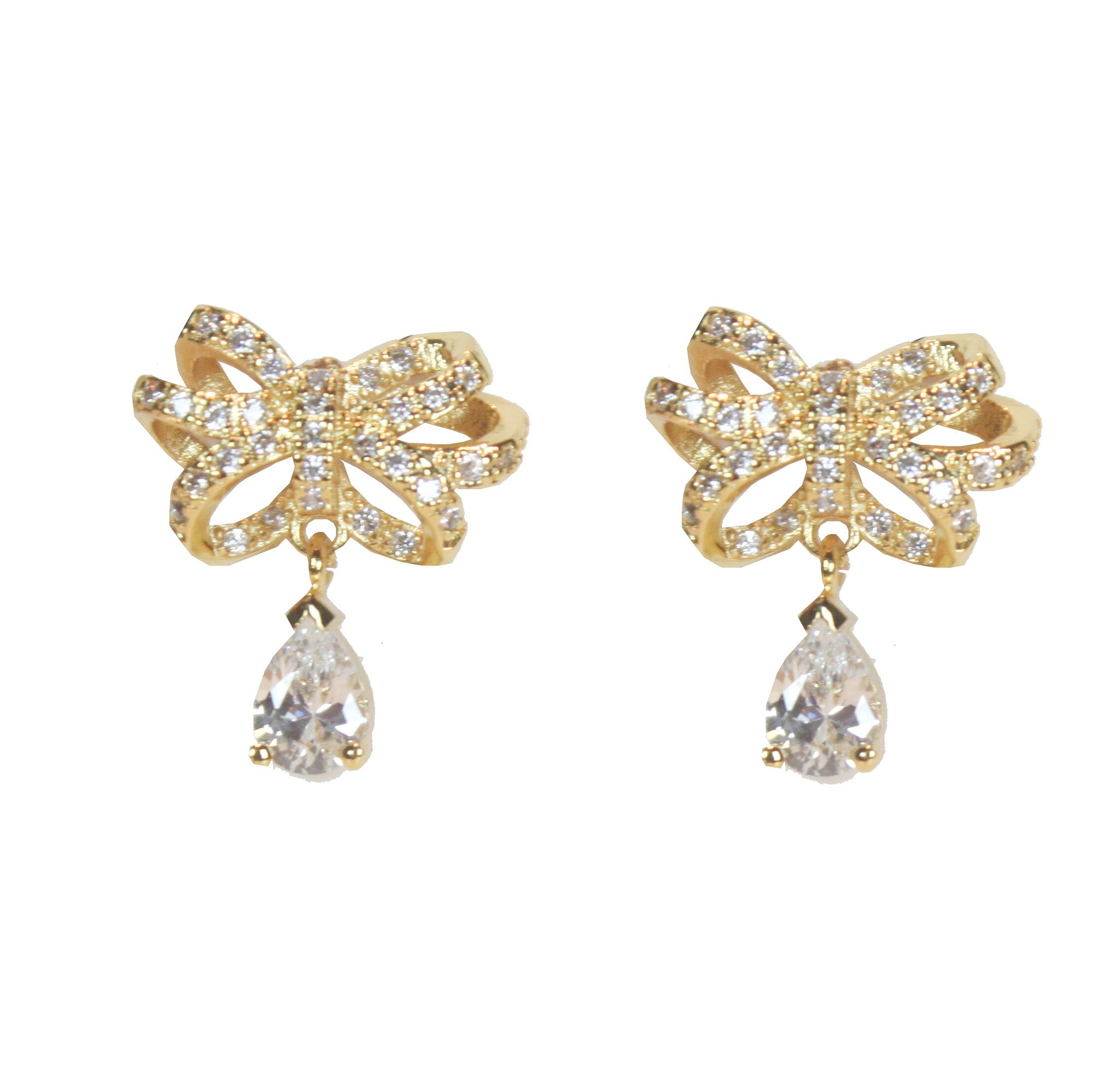 Bethany Gold Bell Earrings