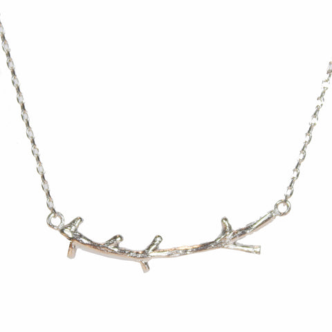 Taylor Silver Branch Necklace