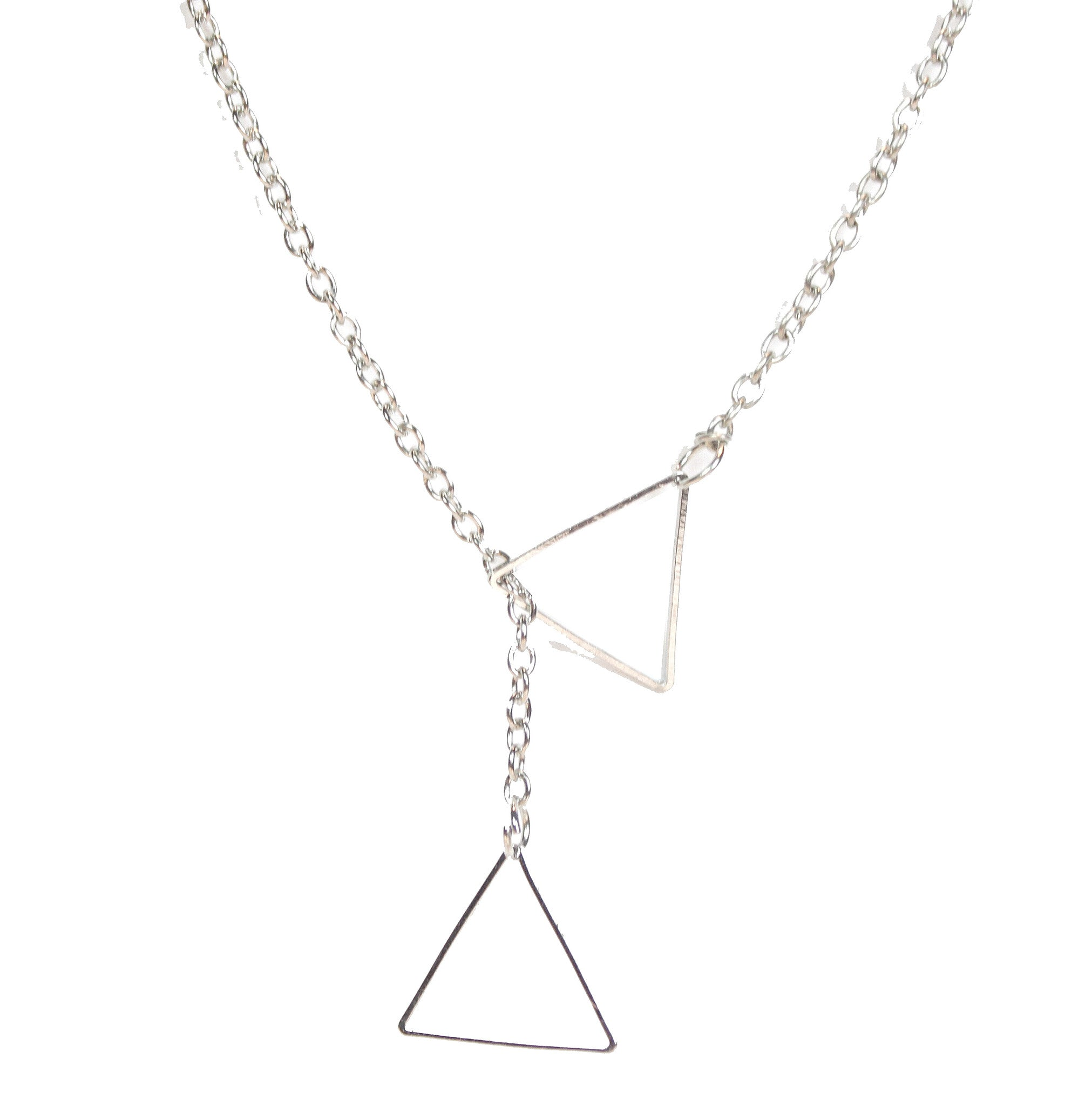 Trinetta Silver Necklace