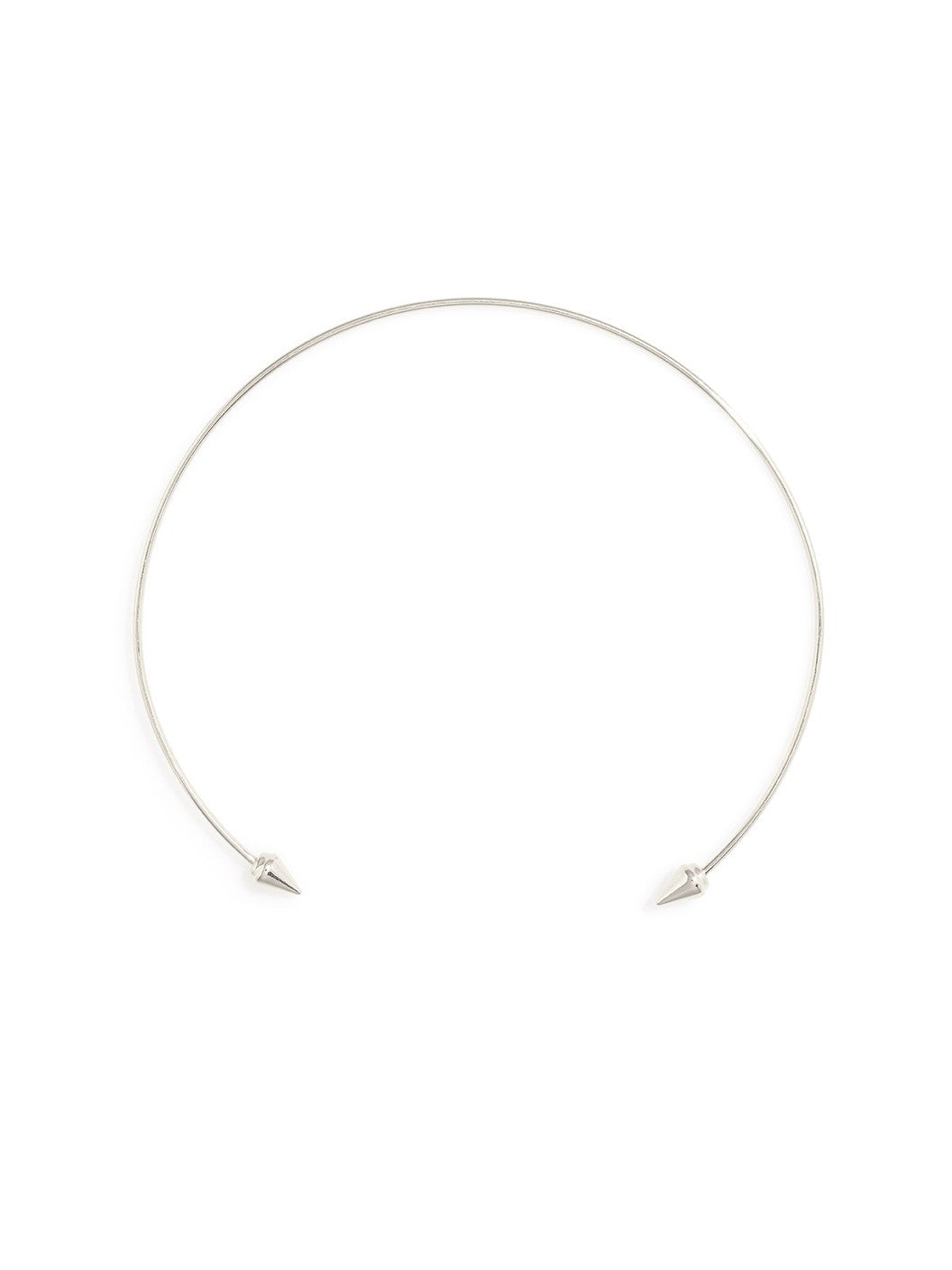 Beatrice Sterling Silver Choker Necklace - Micha Store  - 1
